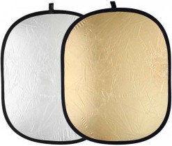 Blenda Quantuum 2w1 srebrno-złota 92x122cm