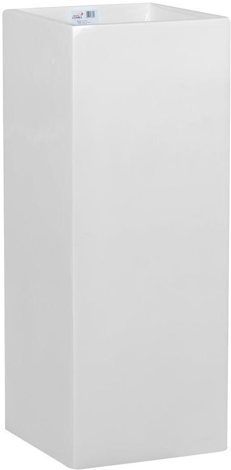 Donica z włókna szklanego D273B biały połysk