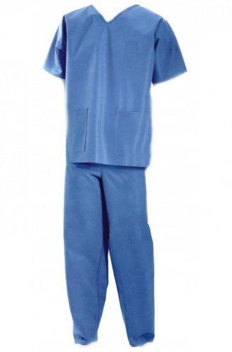 Betatex włókninowe ubranie ochronne dla taty do porodu