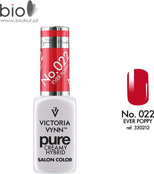Lakier hybrydowy VICTORIA VYNN PURE CREMY HYBRID 022 EVER POPPY - 8 ml