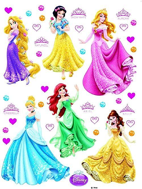 Naklejka ścienna DK 1760 Disney Princess