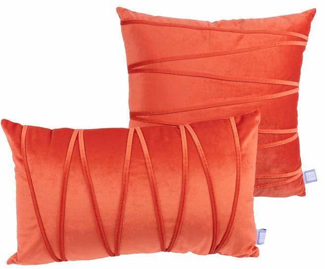 Poduszka dekoracyjna Paulina 100 zestaw 2 pomarańczowych