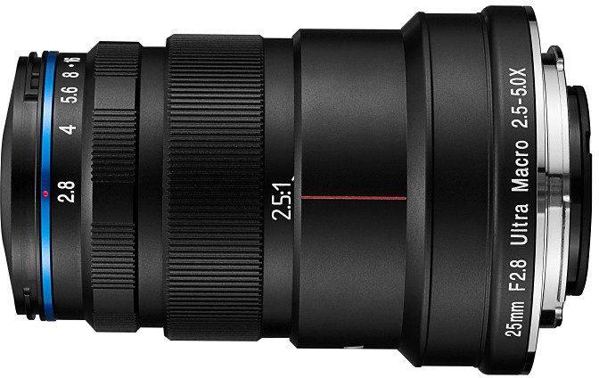 Laowa Venus Optics 25 mm f/2.8 2.5-5X Ultra Macro - obiektyw do Canon EF Laowa Venus Optics 25 mm f/2.8 2.5-5X Ultra Macro
