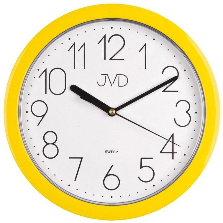 Zegar ścienny JVD HP612.12 Cichy mechanizm