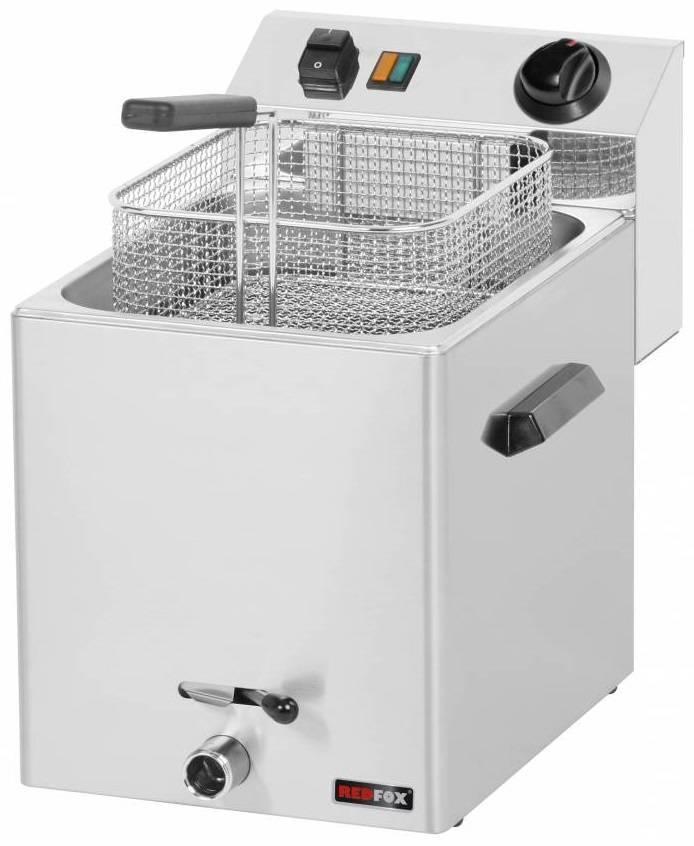 Frytownica elektryczna trójfazowa 8L 6000W 270x420x(H)370mm