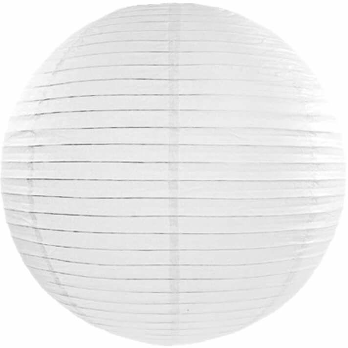 Lampion Kula biały - 35 cm - 1 szt.