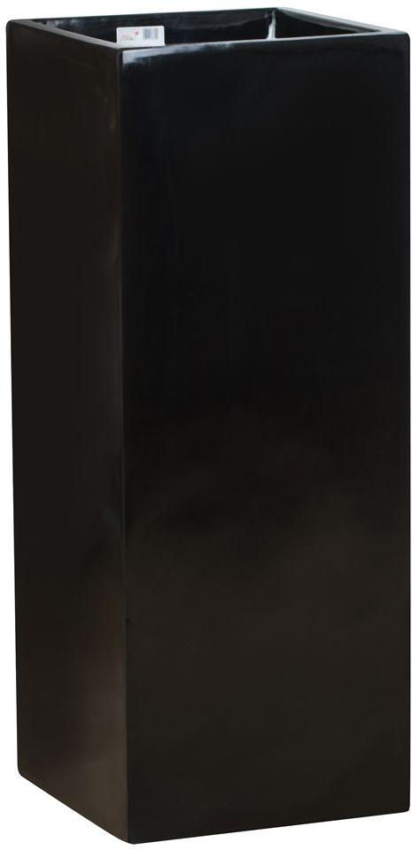 Donica z włókna szklanego D273B czarny połysk