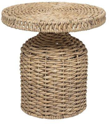 Stolik kawowy z naturalnej plecionki Hiacynt