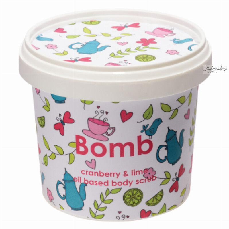 Bomb Cosmetics - Cranberry & Lime - Oil Based Body Scrub - Peeling pod prysznic - ŻURAWINA Z LIMETKĄ