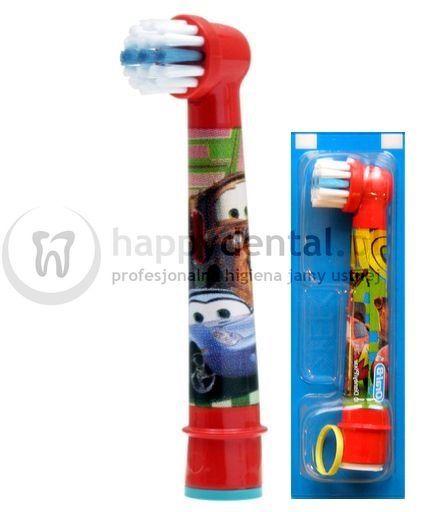 BRAUN Oral-B Stages Power 1szt. EB10-1 - końcówka do szczoteczki elektrycznej dla dzieci - wersja CARS/AUTA