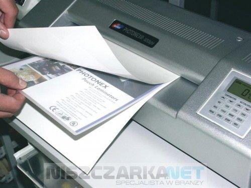 Papierowy carrier do laminatorów format A4