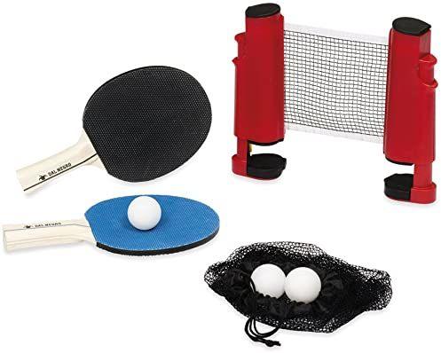 Dal Negro 053904  zestaw siatek do ping pong z rakietą i piłkami