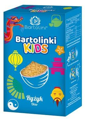 Makaron dla dzieci Ryżyk 250 g Bartolini