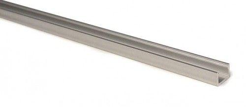 PROFIL aluminiowy nawierzchniowy wąski SLIM srebrny typ X do TAŚMY LED