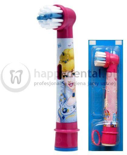 BRAUN Oral-B Stages Power 1szt. EB10-1 - końcówka do szczoteczki elektrycznej dla dzieci - wersja KSIĘŻNICZKA