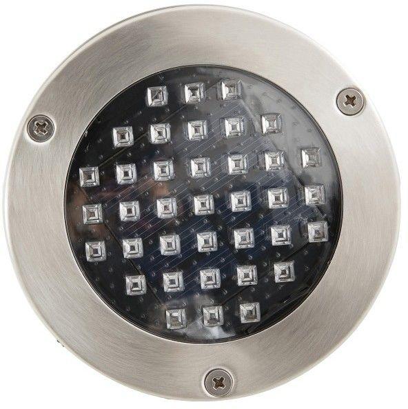 Oświetlenie tarasowe LED Blooma Glend niebieskie