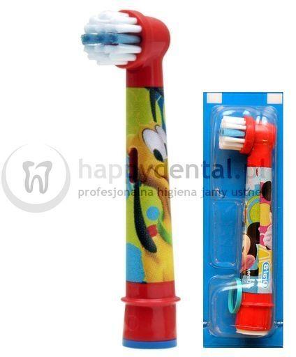 BRAUN Oral-B Stages Power 1szt. EB10-1 - końcówka do szczoteczki elektrycznej dla dzieci - wersja MYSZKA MIKI