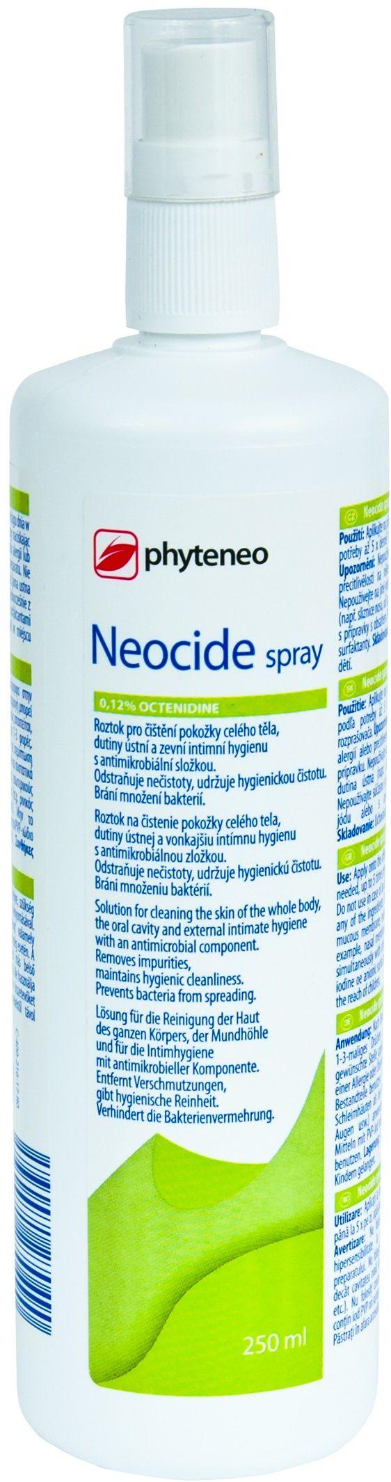 Preparat antybakteryjny do skóry i błon śluzowych Neocide Spray 250ml