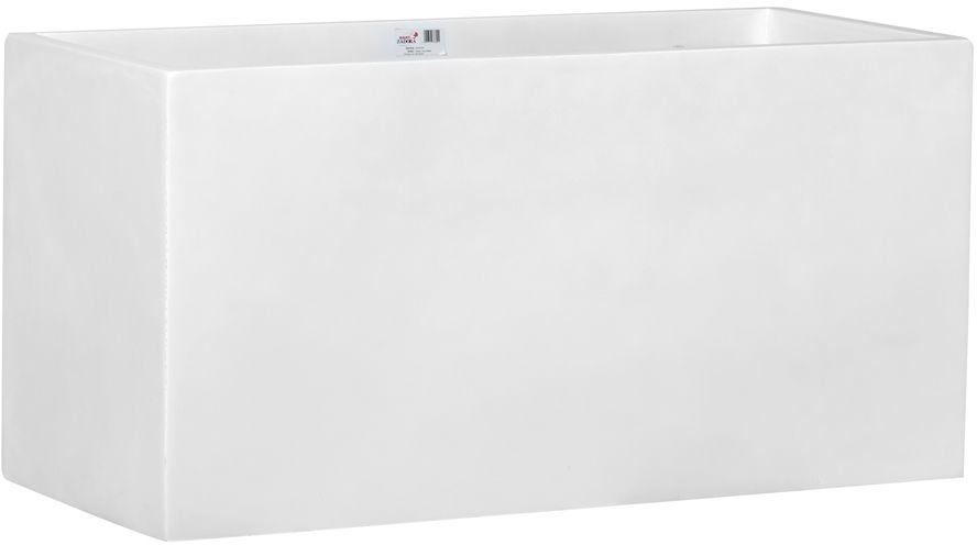 Donica z włókna szklanego D834 biały połysk