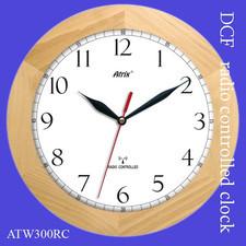 Zegar drewniany sterowany radiowo K1