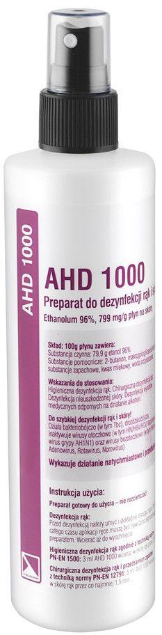 Preparat do dezynfekcji rąk AHD 1000 250ml