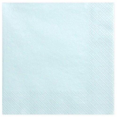 Serwetki j. błękitne 33cm 20 szt. SP33-1-011j