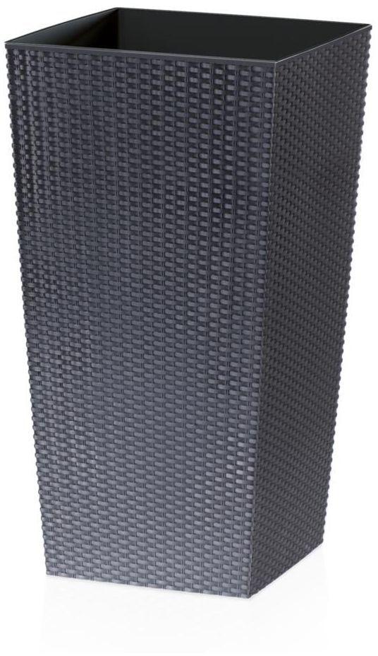 Osłonka plastikowa 40 x 40 cm antracytowa RATO SQUARE