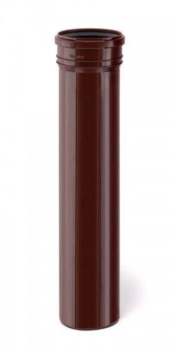 Rura spustowa ø 110 x 1000 mm, brązowy