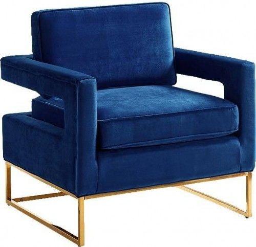 Fotel aksamitny Contemporary Cube