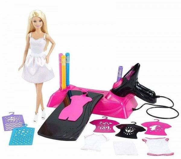 Barbie - Studio wzornictwa + lalka