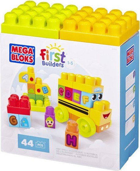 Mega Bloks First Builders - Autobus ABC