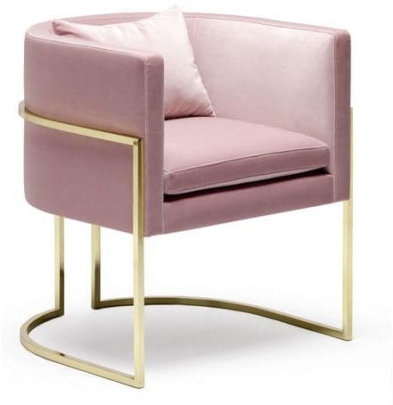 Fotel Joanna Velvet Gold