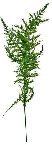 Gałązka paproci c. zielona sztuczne liście 42cm 1 sztuka VC9548-C
