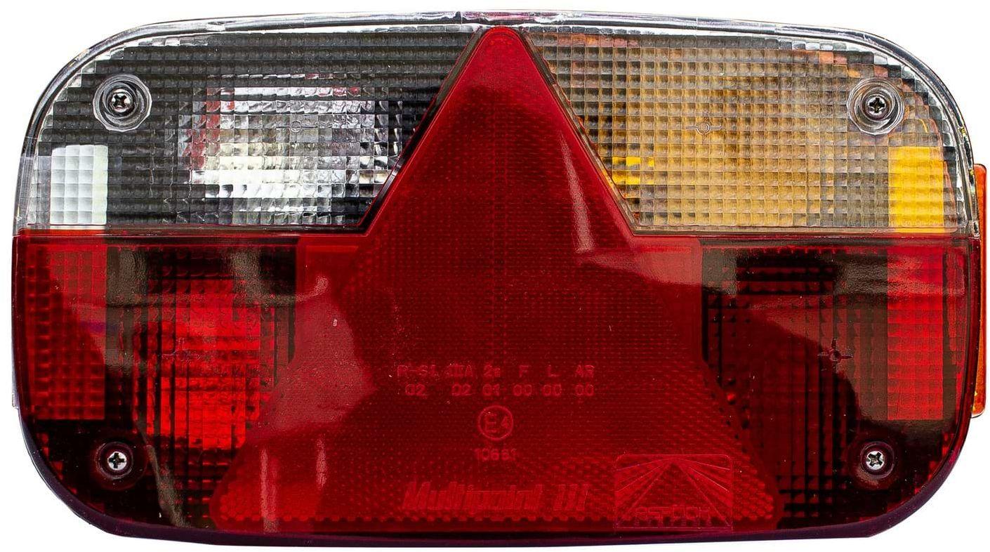 Lampa tylna zespolona do przyczep Asp ck Multipoint III 8-pin prawa