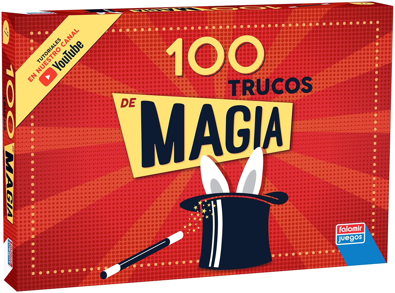 Falomir -Box Magia 100 sztuczek zestaw stołowy, wielokolorowy, (1060)