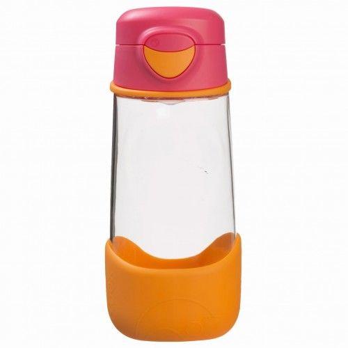 Sportowa butelka tritanowa 450 ml Strawberry Shake b.box
