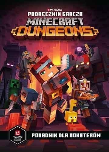 Podręcznik gracza Minecraft Dungeons ZAKŁADKA DO KSIĄŻEK GRATIS DO KAŻDEGO ZAMÓWIENIA