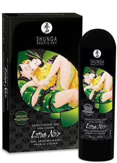 Żel Stymulujący dla Dwojga - Lotus Noir 60 ml 100% ORYGINAŁ DYSKRETNA PRZESYŁKA