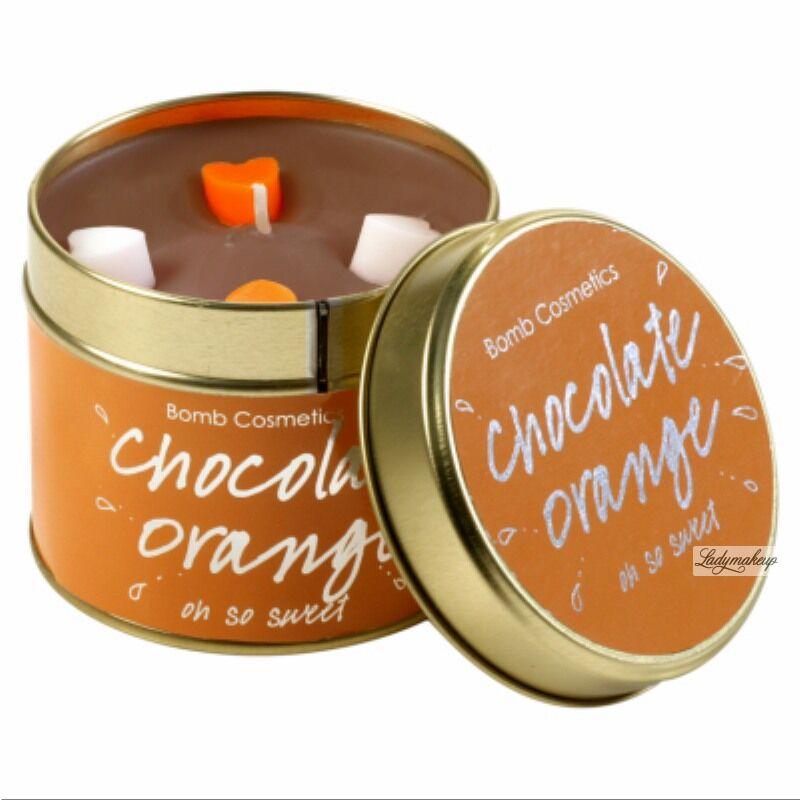 Bomb Cosmetics - Chocolate Orange - Oh so sweet - Ręcznie wytwarzana świeca zapachowa z olejkami eterycznymi - CZEKOLADOWA POMARAŃCZA