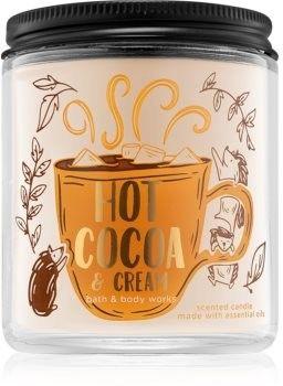 Bath & Body Works Hot Cocoa & Cream świeczka zapachowa 198 g