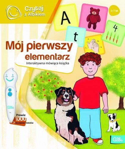 Czytaj z Albikiem Mój Pierwszy Elementarz mówiąca książka Albi