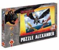 Puzzle 20 maxi Lot nad morzem Jak wytresować smoka 2