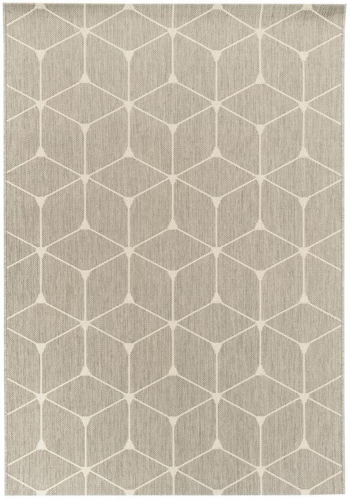 Dywan zewnętrzny Patio szary 160 x 230 cm