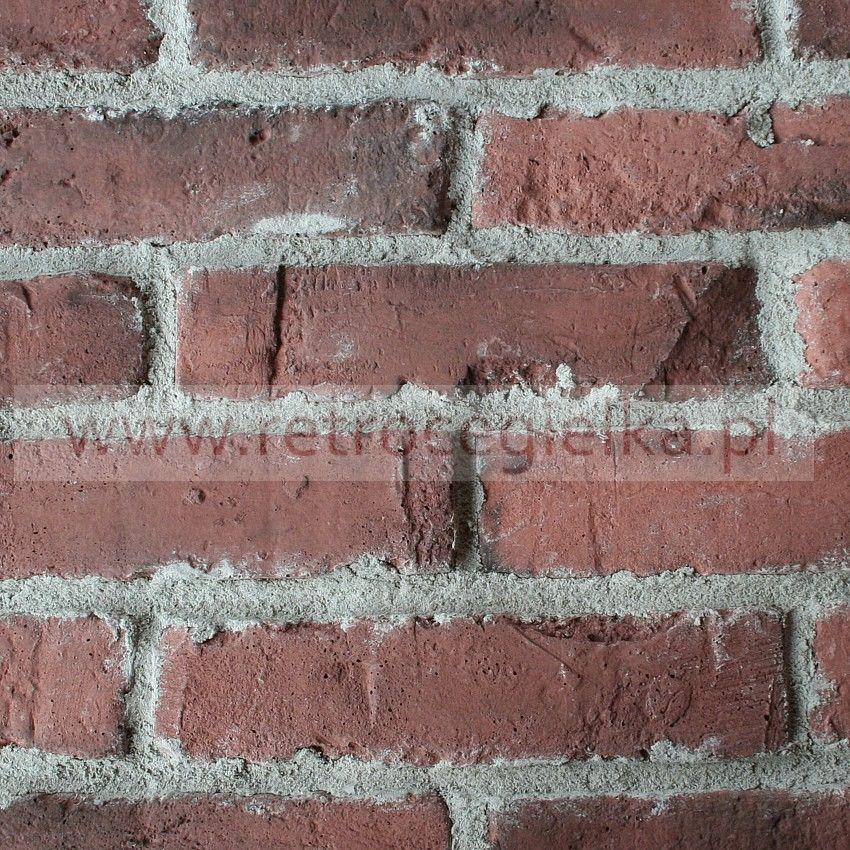 Płytki ze starej cegły - naturalna