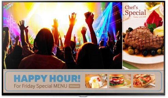 TV Samsung SMART Signage Business RM40D