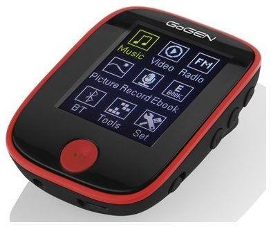 Odtwarzacz mp3 GOGEN MXM 421 GB4 BT Czarno-czerwony DARMOWY TRANSPORT!