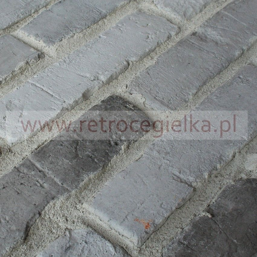 Płytki ze starej cegły - szara