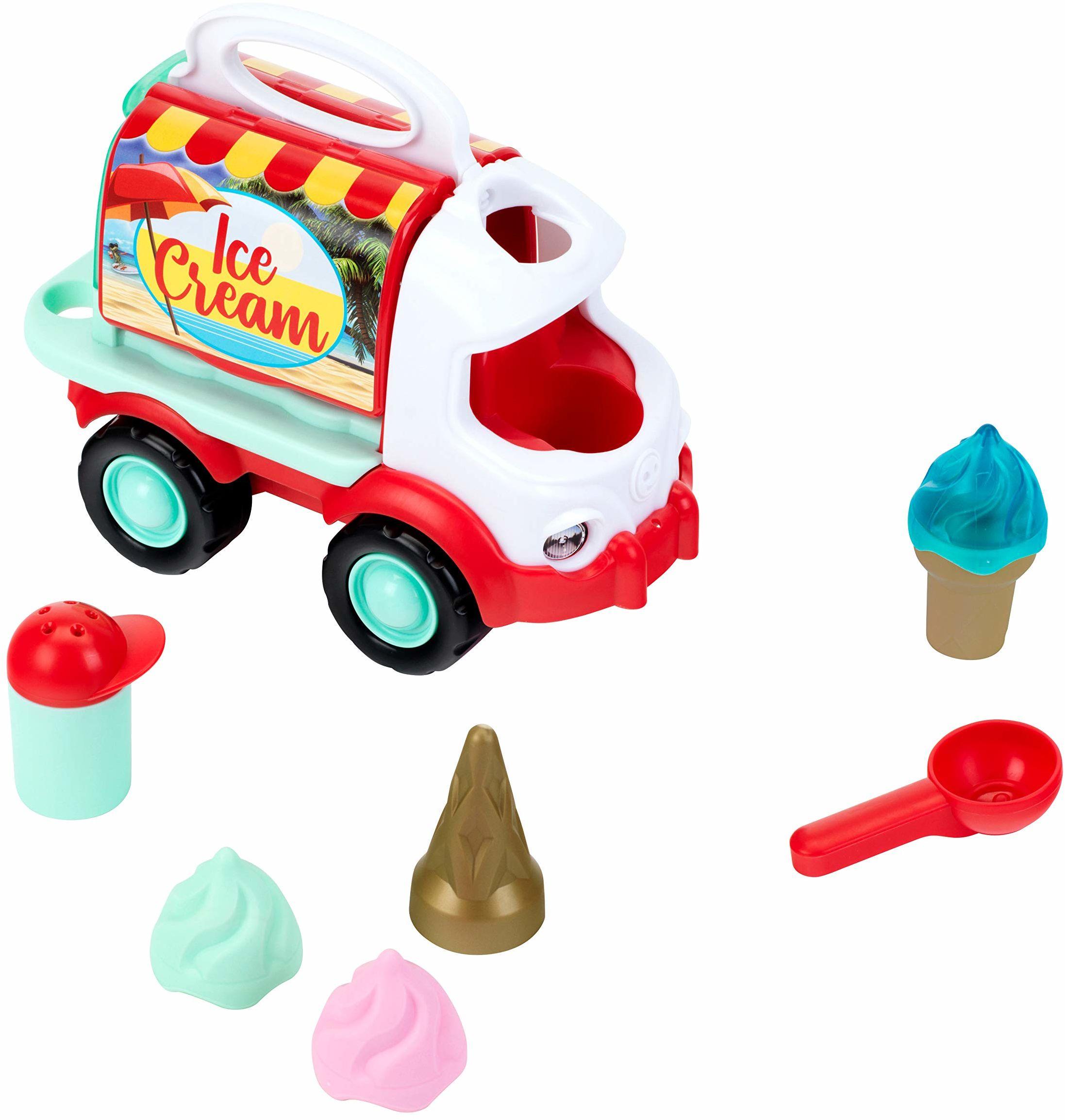 Theo Klein 2367 Beach Picnic wózek na lody dla dzieci od 18 miesięcy