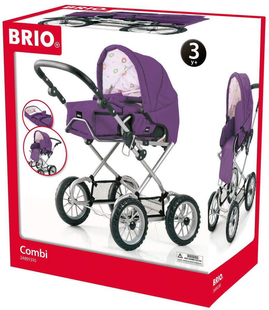 BRIO Puppenwagen Combi, violett