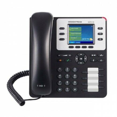GXP2130 HD V2 Telefon VoIP, 3 konta SIP, porty GB, bluetooth - Grandstream